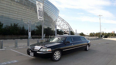 "2004 Lincoln Town Car Tiffany Excecutive Limousine ""ILS Certified"" Used Limousines Limos Stretch Limo Funerals Cars Limosines Buses"
