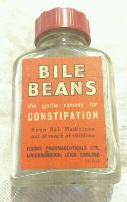 Vintage/Antique Bile Beans Bottle Excellent Condition