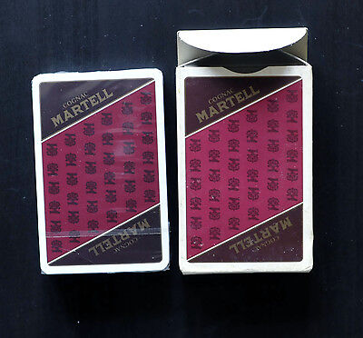 Martell Cognac Branded Playing Cards