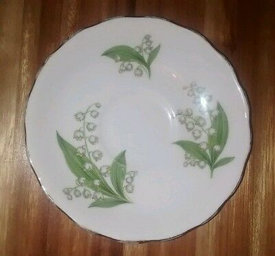 Royal Vale Bone China E 36 6 Small Plate Saucer Vintage