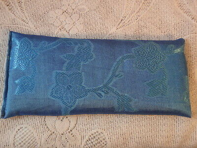 1 x YOGA BLISS SOFT BLUE EYE PILLOW LAVENDER & LINSEED = RELAXATION