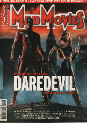 6291: Mad movies n° 151 / le diable sors de saboite ...daredevil de Collectif