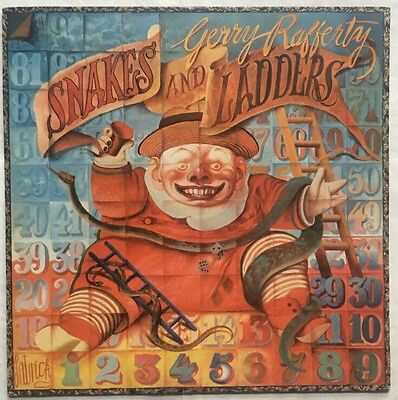 Gerry Rafferty - Snakes and Ladders - United Artists Records Vinyl LP Nr EX/VG+