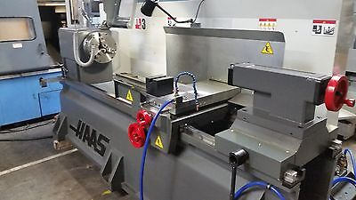 2016 Haas Tl-3 Tool Room Lathe Low Hours With Chuck And Tailstock