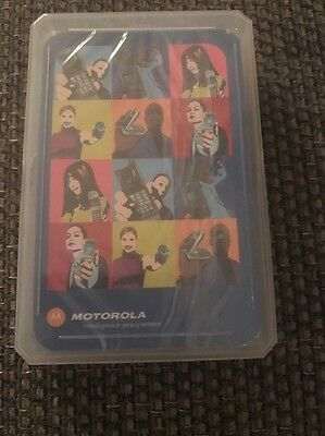 Motorola Top Trumps Promotional Cards, Sealed, Very Rare