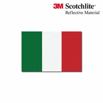 "3M Reflective Flag Decals - Italian Flag - 1.5"" x 2.25"""