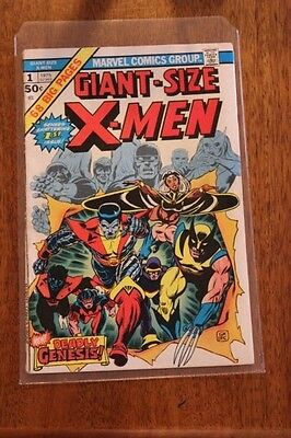 Giant Size X-Men #1 (1975) 1st New X-MEN  2nd Wolverine - Comic is Missing Pages