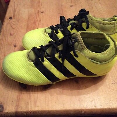 adidas sock youth football boots size 4  primemesh ace 16.3 firm fg boys girls