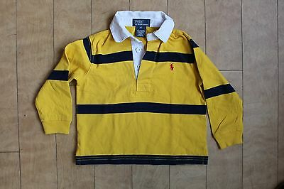 Kids Polo Ralph Lauren Polo / Rugby Shirt In Yellow/black, Age 2 Years