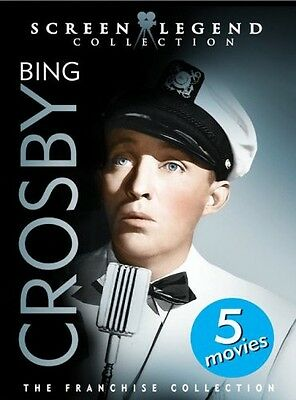 Bing Crosby: Screen Legend Collection [3 Discs] (2007, DVD New)