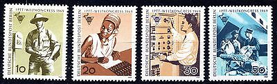 Berlin -  Post Office Trade Union - Full Set - Mint Never Hinged