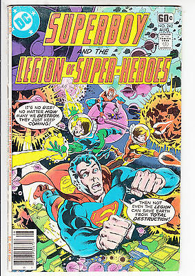 SUPERBOY and the LEGION of SUPER HEROES  V1#242  FN+/FN 1978 DC AMERICAN COMIC