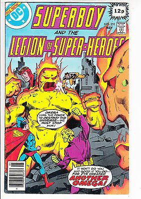 SUPERBOY and the LEGION of SUPER HEROES  V1#251  FN+/FN 1979 DC AMERICAN COMIC