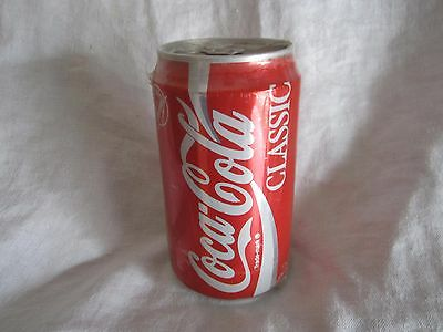COCA-COLA CLASSIC -  CAN BANK  new and sealed (BH)