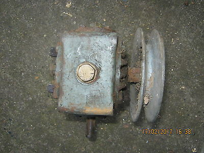 Tractor Part David Brown Reduction Gearbox