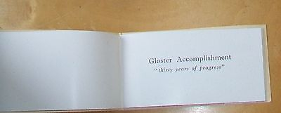 """Gloster Accomplishment """"thirty Years Of Progress"""" Gloster Aircraft Book 1947"""