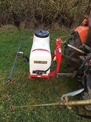 Compact tractor mounted sprayer