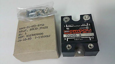 Crydom D2425 Solid State Relay, 24 to 280VAC 25A