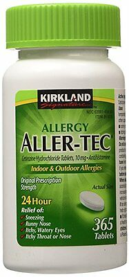 Kirkland Allergy Aller-Tec 10mg 365 Tablets