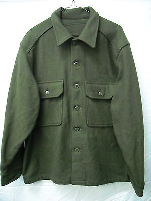 Canadian army military original wool shirt Large *Brand New*
