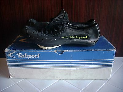 Deadstock Rare Original Valsport Tour 2955 Cycling Shoes Italy 70 80 S39 New Vtg