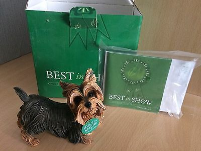 Country Artists Best in Show Hand Painted Yorkshire Terrier - 01567