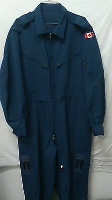 Canadian army military flight suit/coverall air force blue size 7048 X-Large NEW