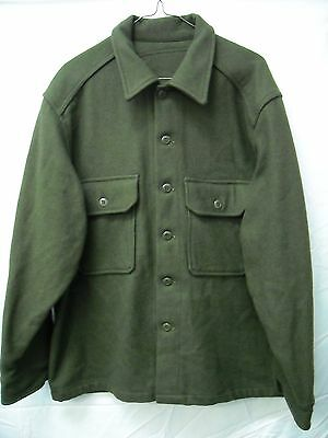 Canadian army military original wool shirt X-Large *Brand New*