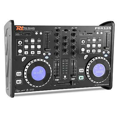 Mixer Cdj Doppio Mixer Consolle Dj 2 Canali Usb Scratch Loop Power Dynamics