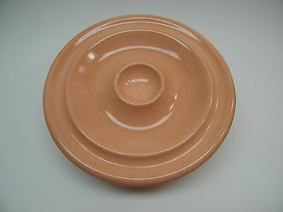 Russell Wright By Steuebenville Mid Century Coral Pink Rosette Relish Dish Rare