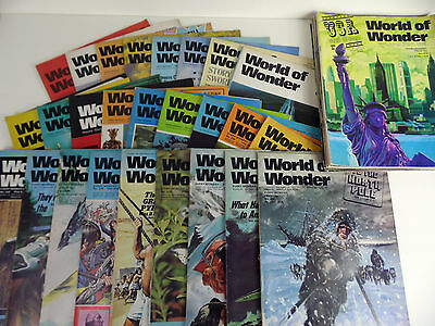 World Of Wonder Magazine Collection (35 Issues Total) 1974