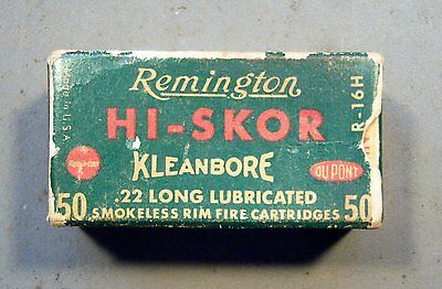 Empty Remington Hi-Skor  22 Long Shell Box.