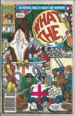 What The--?! #16 (Jan 1992, Marvel)