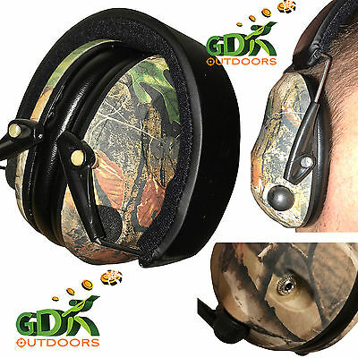 Gdk Camo,mp3 Electronic Ear Defender,electronic,muffs,camouflage 2 X Microphones