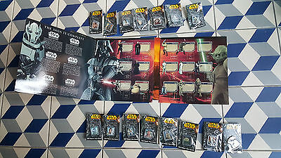 Rare sealed Star Wars Episode III Official 2005 Pin Badge Collection - complete