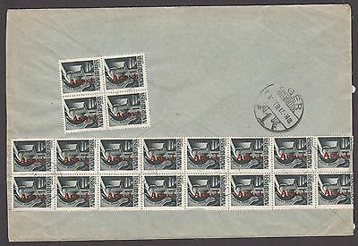 Hungary 1946 Cover Inflation/infla Period 7 - Using Printed Matter Stamps