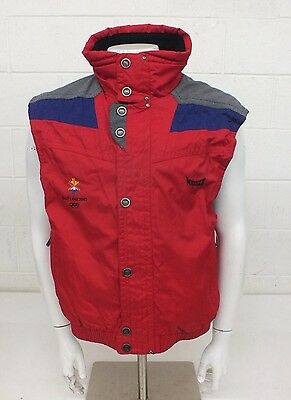 Marker Salt Lake City Olympics 2002 Vest Men's Size Large GREAT Fast Shipping