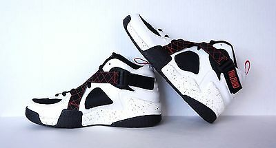 New Nike Air Raid 642330-100 White/black  Size 11