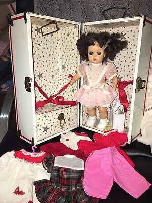 Tiny Terri Lee Doll with Trunk & Outfits And Purse