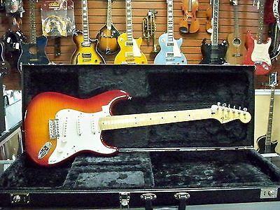 Fender Deluxe Stratocaster FMT Plus Top Electric Guitar