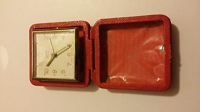 Vintage Swiza Coquet Travel Alarm Clock