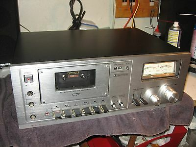 Aiwa AD-6300 Cassette Deck-As Is Sale -Includes Manual