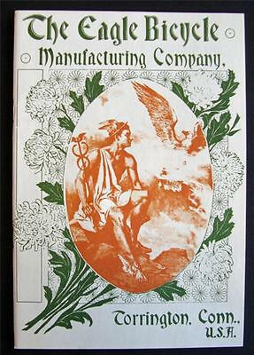 1897 EAGLE BICYCLE Manufacturing Co CATALOG of antique BIKES brochure