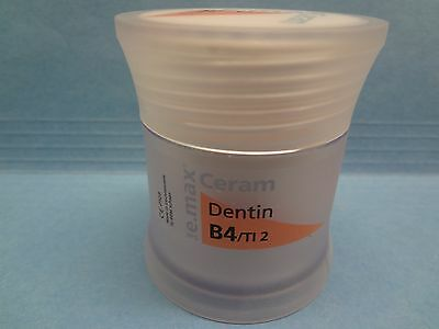 Ivoclar E.max Ceram B4/TI 2 DENTIN dental lab Porcelain new 100g