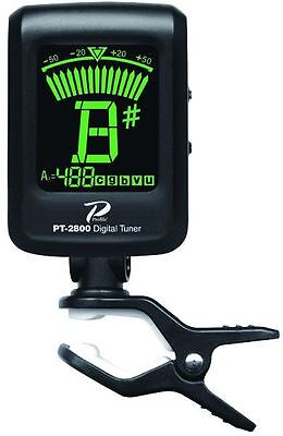 Profile PT2800 Clip On Acoustic or Electric Guitar & Bass Tuner w LCD Screen