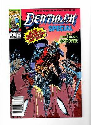Deathlok #3 (Marvel Comics, Mid June 1991)