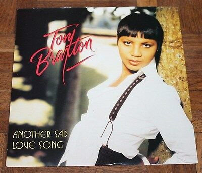 "TONI BRAXTON * ANOTHER SAD LOVE SONG * Classic Soul Funk Boogie 7"" Vinyl"