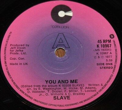 "SLAVE * YOU AND ME * Classic Soul Funk Boogie 7"" Vinyl"