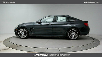 2017 BMW 4-Series 430i Gran 430i Gran 4 Series New 4 dr Coupe Automatic Gasoline 2.0L 4 Cyl Mineral Gray Met