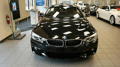 2017 BMW 4-Series 430i 430i 4 Series New 2 dr Convertible Automatic Gasoline 2.0L 4 Cyl Black Sapphire